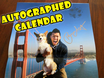 Special Autographed Corgi On Fleek 2017 Calendar