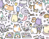 2 Kawaii Doodle Art Prints - Choose Your Favorites!