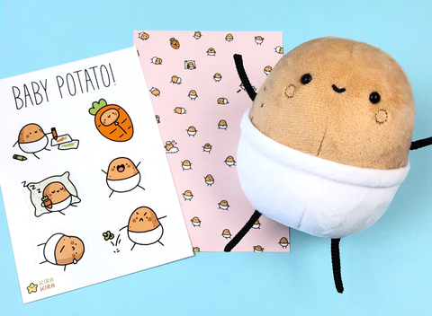 Baby Potato Fan Pack!