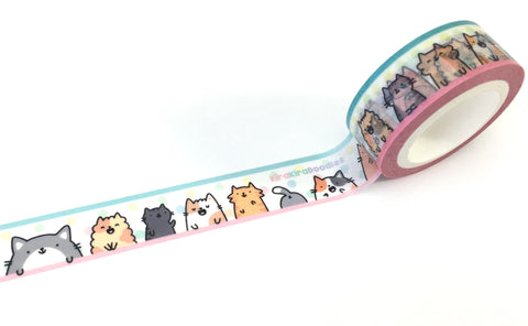 Kawaii Washi Tape - Cats and Kitties!