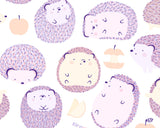 Happy Hedgies! Cute Hedgehog Doodle Art Print