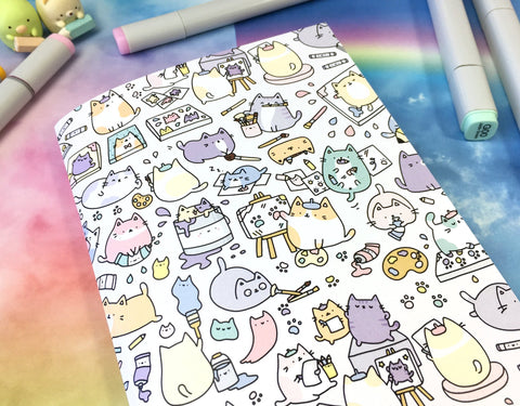 Artsy Cats Sketchbook!
