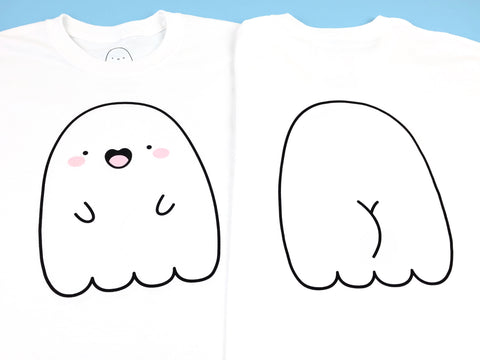 Cheeky Spooky! Ghost Butt T-Shirt