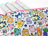 Kawaii Pokemon Doodle Zipper Pouch