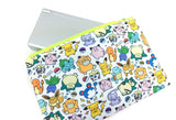 Kawaii Pokemon Doodle - Gamer Zipper Pouch