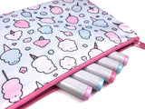 Cotton Candy Club! Big Zipper Pouch