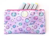 Need Some Space! Pastel Galaxy Pouch