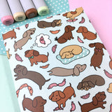 Small Wienerdog Wonderland Sketchbook