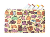 Beary Cute Bears Zipper Pouch