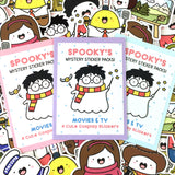 Movies & TV - Spooky's Mystery Sticker Packs!