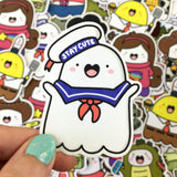 Spooky's Cosplay - Single Stickers ~ Movies & TV