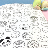 KiraKira Coloring Book - Foodies & Cuties!