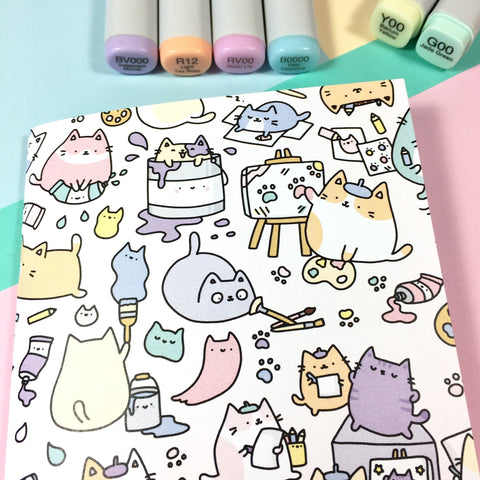 Small Artsy Cats Sketchbook!