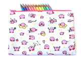 Bigger Kirby Doodle Zipper Pouch
