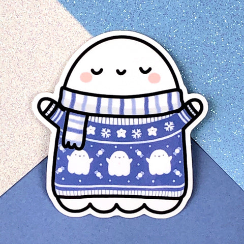 Sweater Weather Spooky Sticker