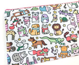 Animals with Scarves - Cute Winter Animals Pouch