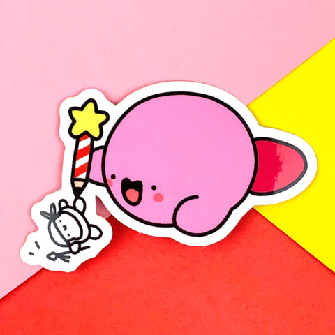 Kirby Doodles Sticker