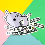 Copicat! - Kawaii Marker Kitty Sticker