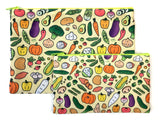 Bigger Veggie Friends Zipper Pouch