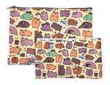 Bigger Beary Cute Bears Zipper Pouch