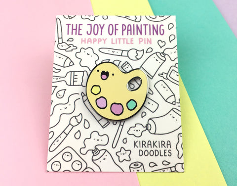 The Joy of Painting - Happy Little Pin!