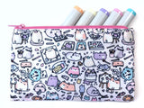 Artsy Cats Zipper Pouch