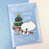 Merry Little Christmas Cards! - Set of 3 - Spooky McCute