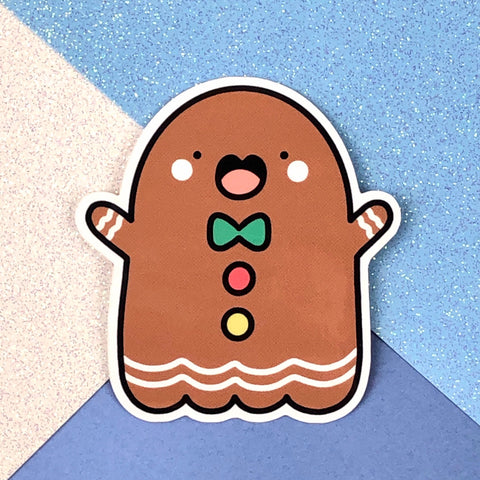 Gingerbread Spooky Sticker