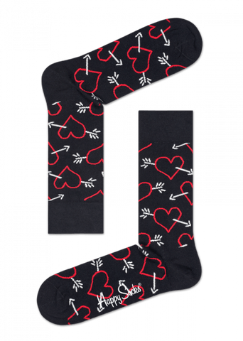 Happy Socks - Arrow & Heart Sock - Perth - Gifted Design