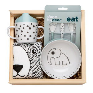 Meal Time Blue Gifted Design Gift Box Perth
