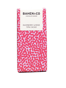 Bahen and Co Chocolate - Rasberry and Rose