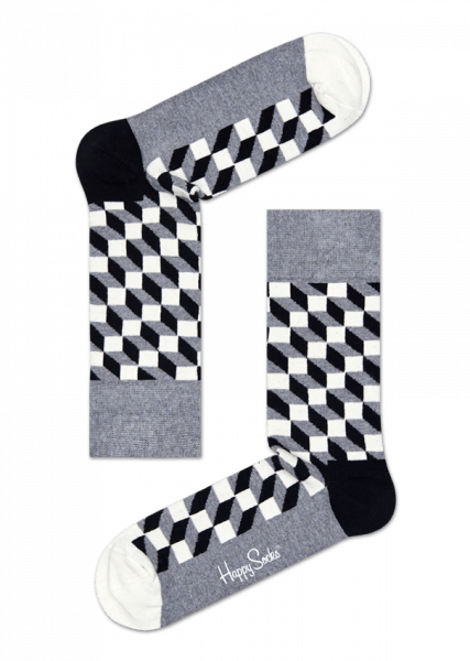 Filled Optic Sock - Happy Socks -Gifted Design - Perth