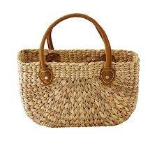 Harvest Shopping Baskets with Natural Suede Handle - Small - Gifted Design - Perth - WA