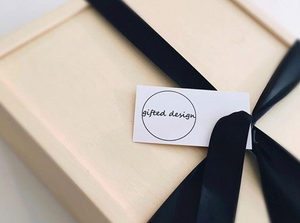 Wooden Gift Box - Gifted Design Perth