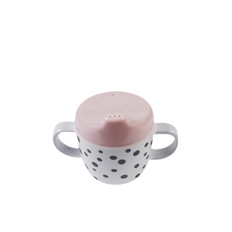 Done By Deer - 2-handle Spout Cup - Happy Dots - Powder - Gifted Design - Perth - Gift Box