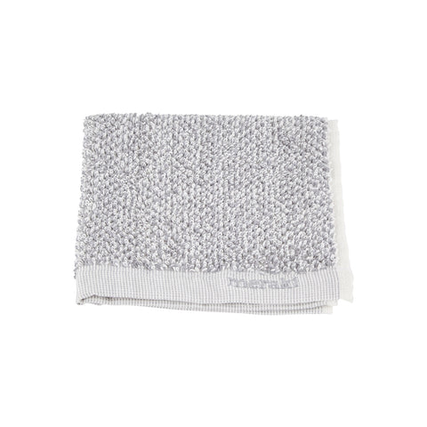 Meraki Wash Cloths - Pack of 3 White/Grey