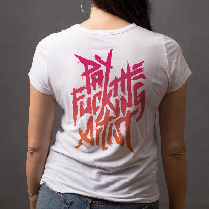 Pay The Artist Women's Tee