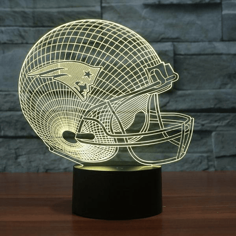 New England Patriots NFL 3D LED Lamp