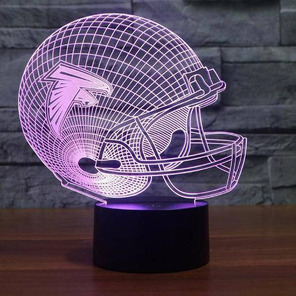 Atlanta Falcons NFL 3D LED Lamp
