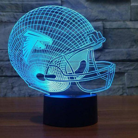 Atlanta Falcons NFL 3D LED Lamp LEDMiracles