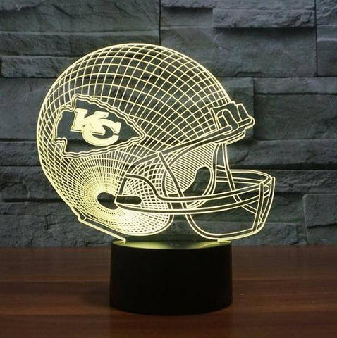 Kansas City Chiefs NFL 3D LED Lamp