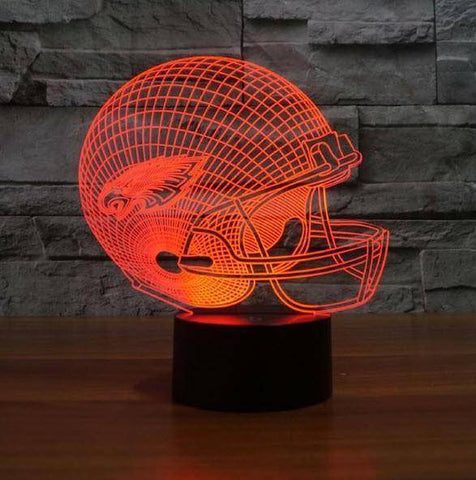 Philadelphia Eagles 3D LED Lamp LEDMiracles