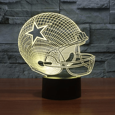 Dallas Cowboys NFL 3D LED Lamp