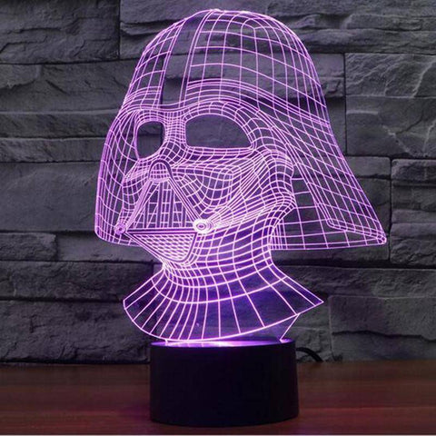 Anakin Skywalker - Darth Vader Star Wars 3D LED Lamp