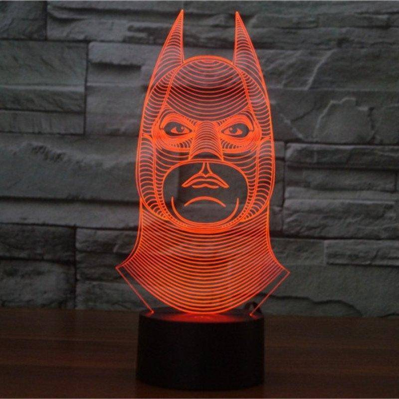 Batman 3D LED Lamp