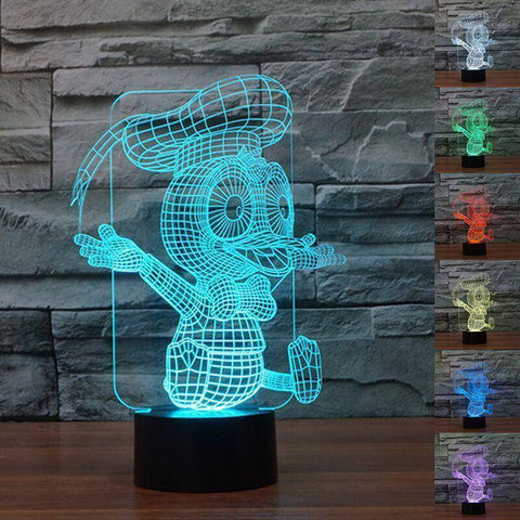 Donald Duck 3D LED Lamp
