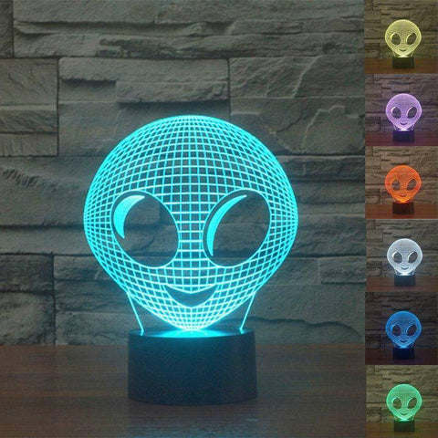 ET Alien 3D LED Lamp