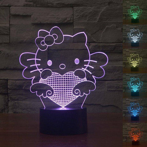 Hello Kitty 3D LED Lamp