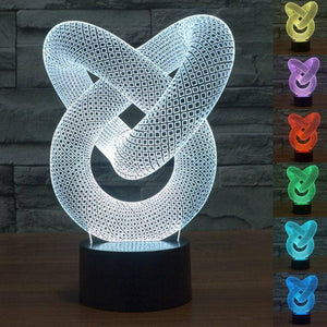 Illusion Wrap 3D LED Lamp LEDMiracles