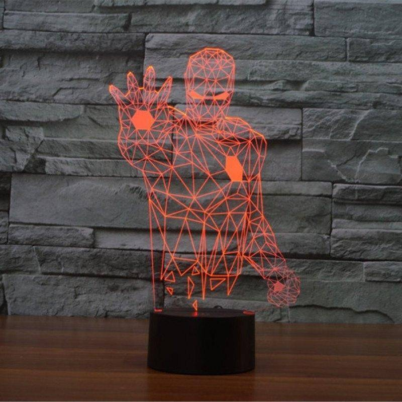 Iron Man 3 3D LED Lamp